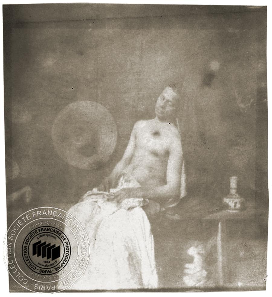 Le Noyé. autoportrait. Hippolyte BAYARD / Collection Société française de photographie