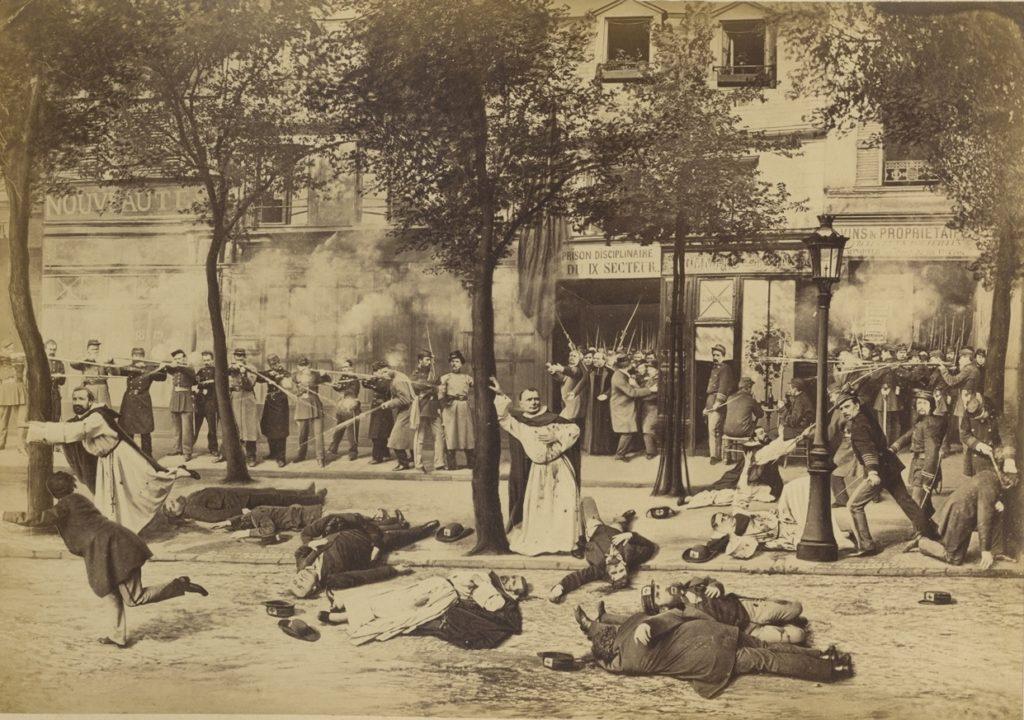 die Verbrechen der Commune/ Ernest Eugène Appert/ Photography Library Fund, 2012 Metropolitan Museum